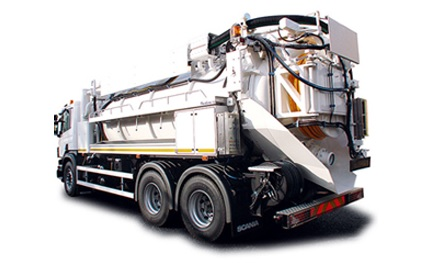 Jet Vac Tanker Lorry