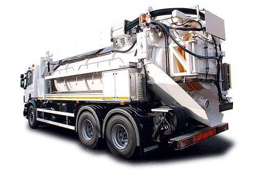 Exjet Jet Vac Tanker Lorry